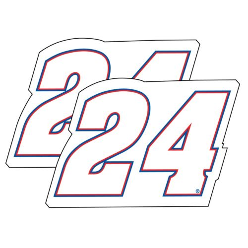 Chase Elliot 2-Pack Jumbo Number Decal Set