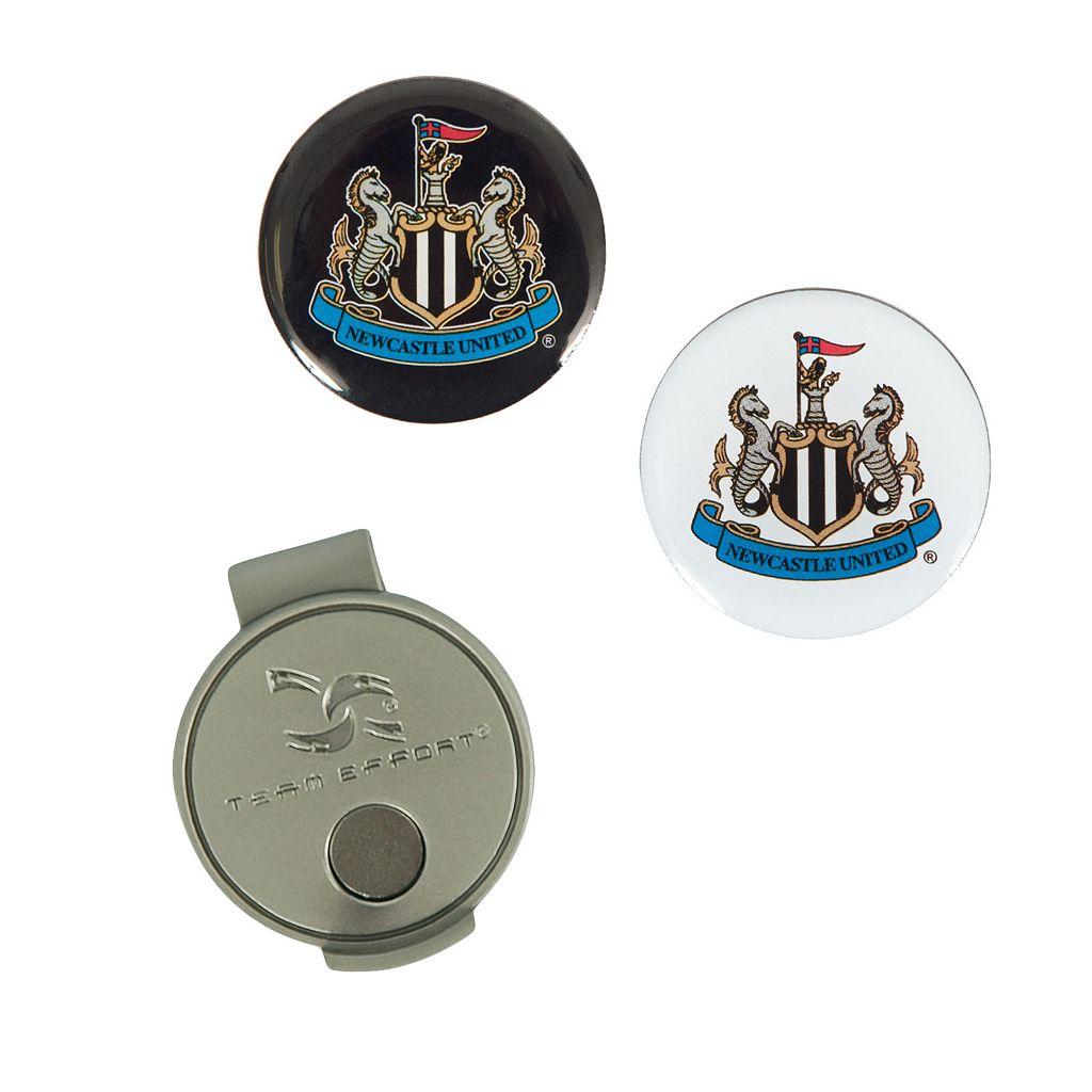 Team Effort Newcastle United FC Hat Clip & Ball Marker Set