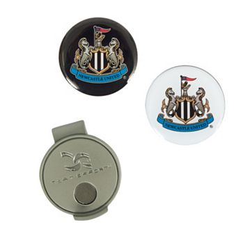 Team Effort Newcastle United FC Hat Clip & Ball Marker Set