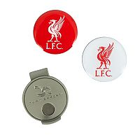 Team Effort Liverpool FC Hat Clip & Ball Marker Set