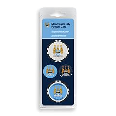 Team Effort Manchester City FC Golf Ball Marker Set