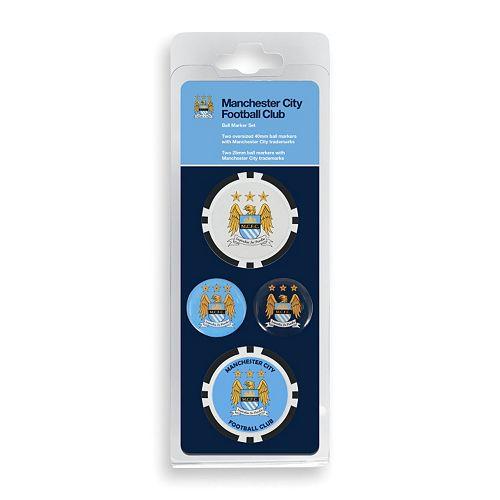 Team Effort Manchester City FC Golf Ball Marker Set