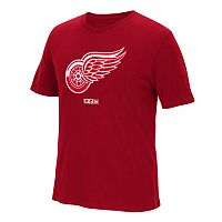 Men's CCM Detroit Red Wings Logo Tee