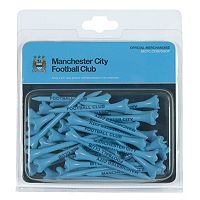 Team Effort Manchester City FC Golf Tee Pack