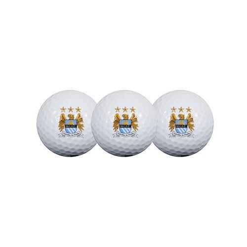 Team Effort Manchester City FC 3-Pack Golf Ball Set