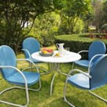 Griffith Metal Outdoor Dining 5-piece Set