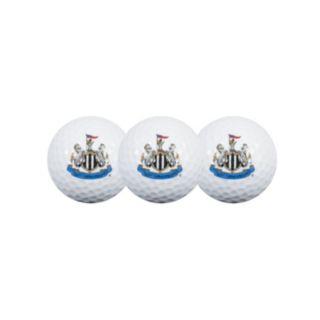 Team Effort Newcastle United FC 3-Pack Golf Ball Set