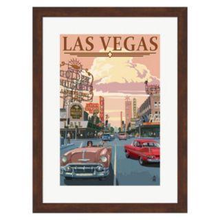"""Metaverse Art """"Las Vegas"""" Framed Wall Art"""