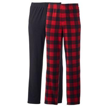 Men's 2-pack Microfleece Lounge Pants