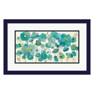 Metaverse Art Floral Lace Framed Wall Art