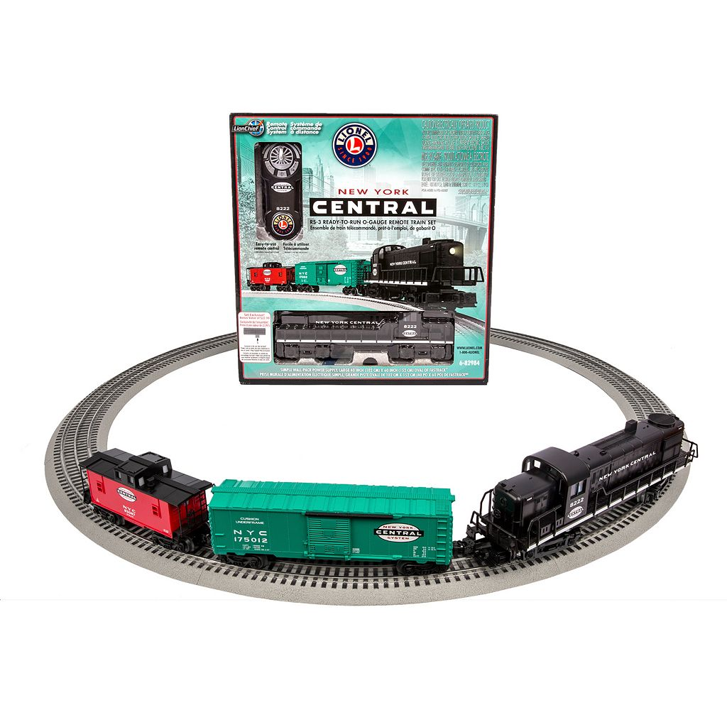 Lionel Trains New York Central RS-3 O Gauge LionChief Train Set