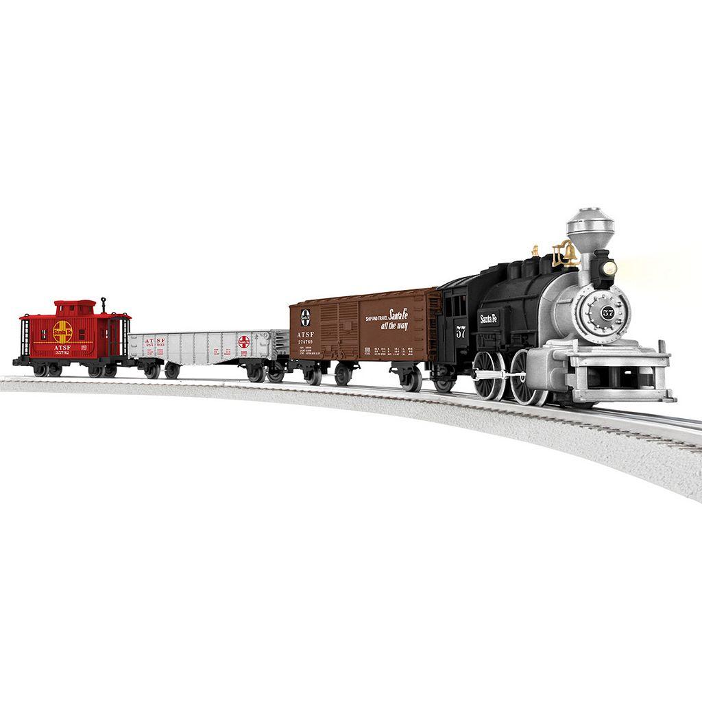 Lionel Trains Junction Santa Fe Steam Train Set