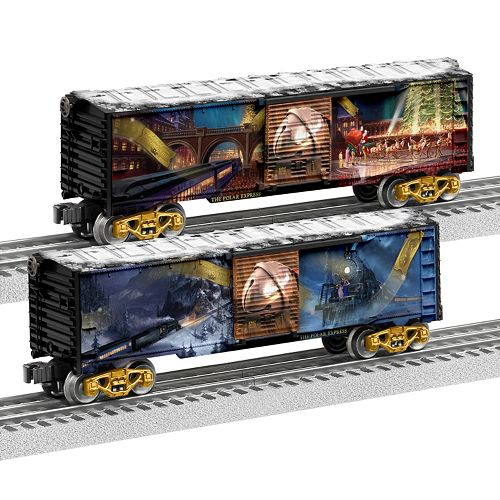 The Polar Express 2-pk. Boxcar Set by Lionel Trains