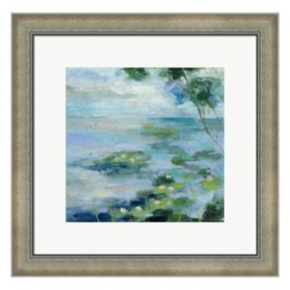 Metaverse Art Lily Pond II Framed Wall Art