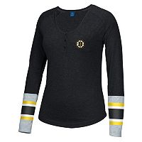 Women's Reebok Boston Bruins Jersey Henley