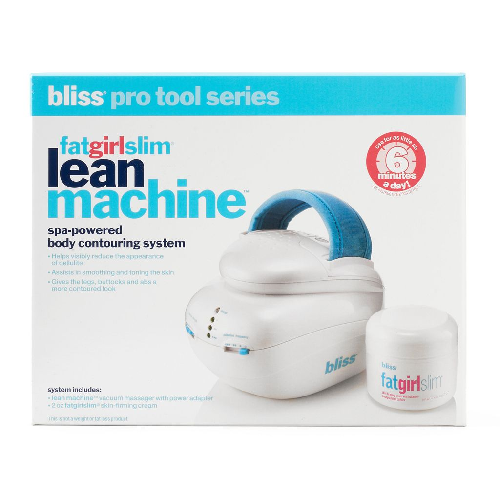 bliss fatgirlslim Lean Machine Spa-Powered Body Contouring System