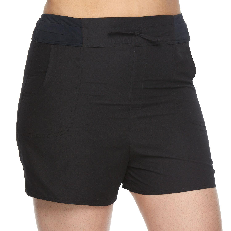 Plus Size Croft & Barrow? Solid Swim Shorts
