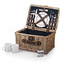 Picnic Time Dahlia Collection Catalina Basket