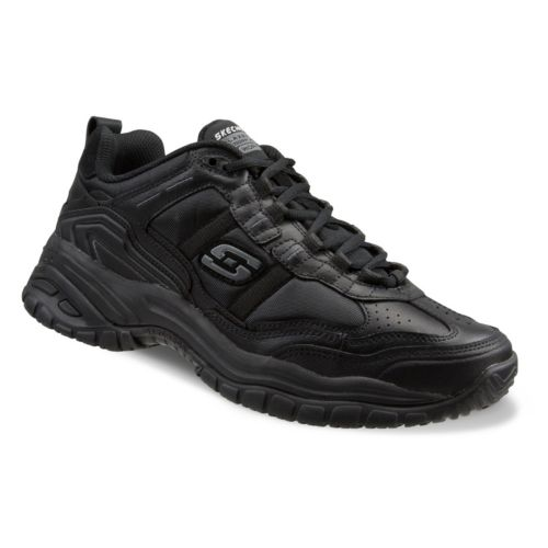 Skechers Work Relaxed Fit Soft ... Stride Mavin Men's Utility Shoes