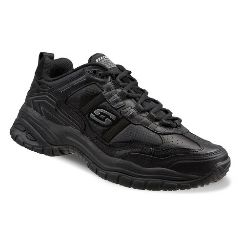 057eda4a063 Skechers Work Relaxed Fit Soft Stride Mavin Men's Utility Shoes