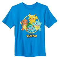 Boys 8-20 Pokemon Starters Tee