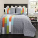 Lush Decor Shelly Stripe Quilt