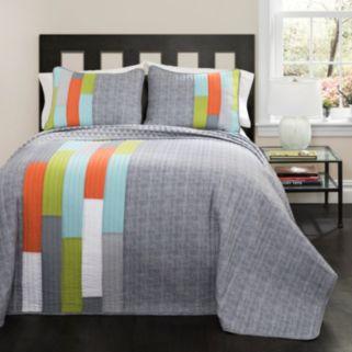 Lush Decor Shelly Stripe Quilt