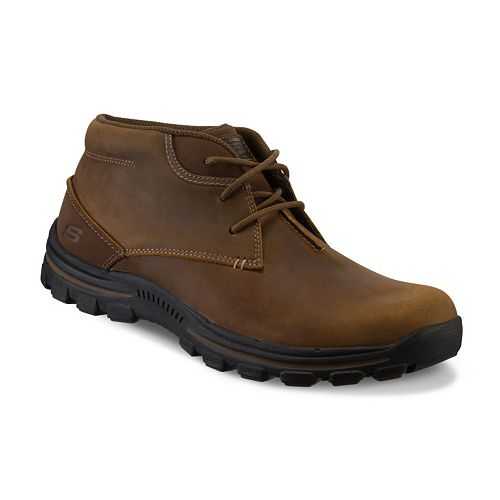 8dd9a3f4d1b26 Skechers Relaxed Fit Horatio Men's Chukka Boots