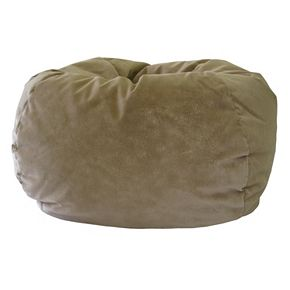 Extra Large Microfiber Faux Suede Bean Bag Chair