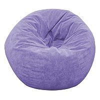 Extra Large Microfiber Faux-Suede Corduroy Bean Bag Chair