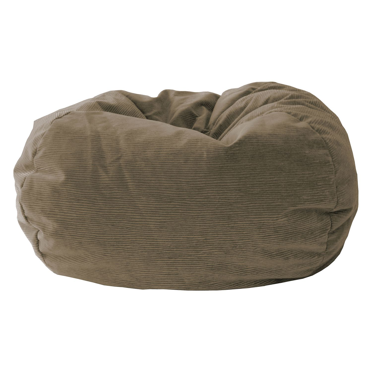 Extra Large Microfiber Faux Suede Corduroy Bean Bag Chair