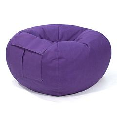 Small Cargo Pocket Microfiber Bean Bag Chair
