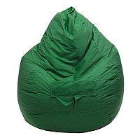 Large Teardrop Cargo Pocket Microfiber Bean Bag Chair