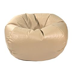 Medium Faux Leather Bean Bag Chair