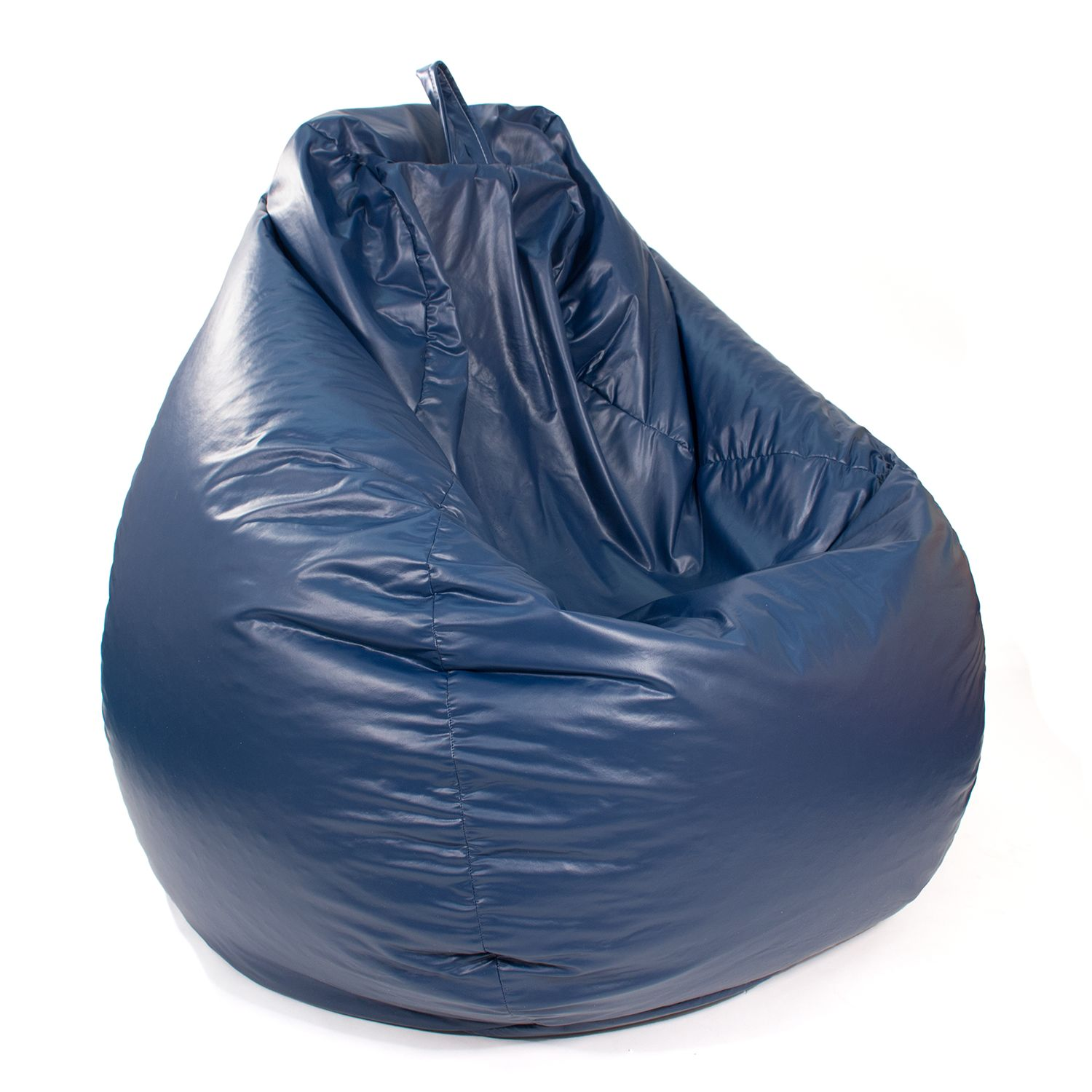 Large Teardrop Faux Leather Bean Bag Chair