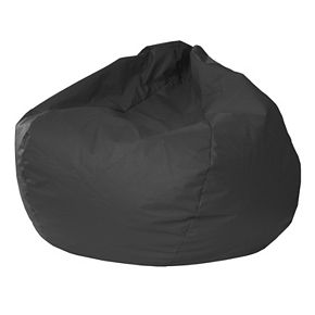 Extra Large Faux Leather Bean Bag Chair