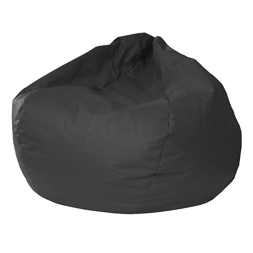 Extra Large Faux-Leather Bean Bag Chair