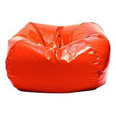 Small Vinyl Bean Bag Chair