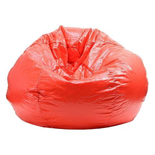 Medium Vinyl Bean Bag Chair