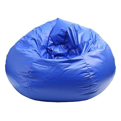 Awe Inspiring Extra Large Vinyl Bean Bag Chair Creativecarmelina Interior Chair Design Creativecarmelinacom