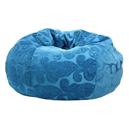 Extra Large Floral Bean Bag Chair
