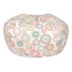 Medium Starburst Pinwheel Bean Bag Chair