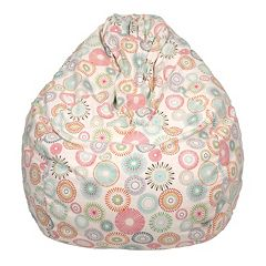Large Teardrop Starburst Pinwheel Bean Bag Chair