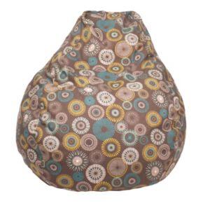 Large Teardrop Starburst Pinwheel Bean Bag Chair
