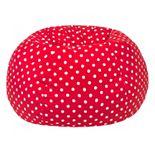 Small Polka-Dot Bean Bag Chair
