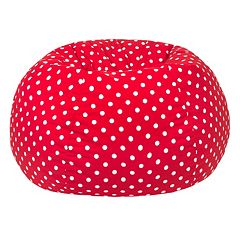 Small Polka-Dot Bean Bag Chair