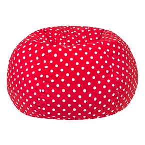 Medium Polka-Dot Bean Bag Chair