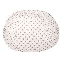 Medium Polka-Dot Bean Bag Chair