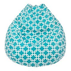 Large Teardrop Trellis Bean Bag Chair