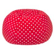 Extra Large Polka-Dot Bean Bag Chair
